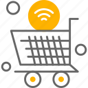 trolley, internet, wifi, things