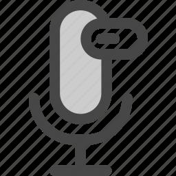 audio, download, loading, microphone, podcast, progress icon