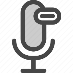 audio, download, loading, microphone, podcast, progress icon