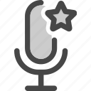 audio, bookmark, favorite, microphone, podcast icon