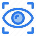 eye, focus, internet, scan, security, view, vision