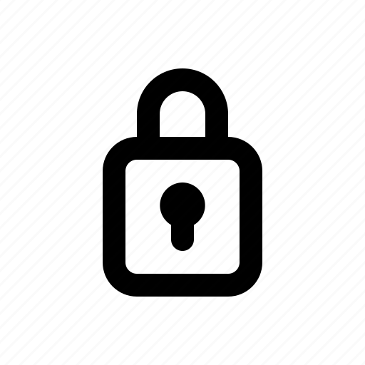 Internet, lock, locked, padlock, password, secure, security icon - Download on Iconfinder