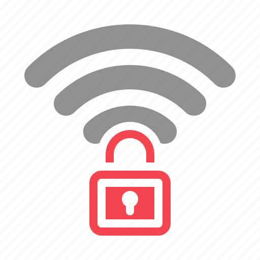 internet, lock, network, protection, security, wifi icon