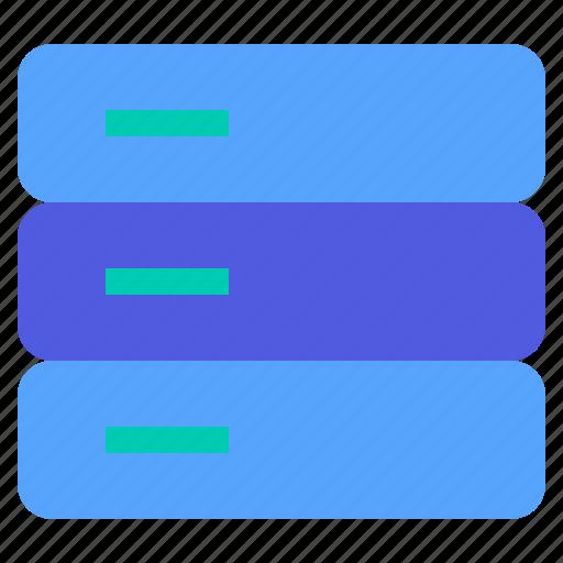 computer, data, database, internet, server icon