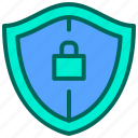 lock, privacy, safety, security, shield