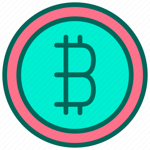 bitcoin, digital, money, payment, technology icon