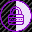 lock, password, private, security icon