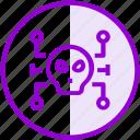 hacker, malware, security, virus icon