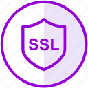 protection, security, shield, ssl icon
