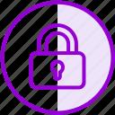 closed, lock, private, security icon