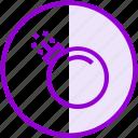 attack, blast, bomb, virus icon