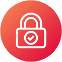 access, lock, safe, secure icon