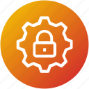 lock, protection, security, settings icon