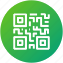 code, qr code, scan, security icon