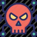 bug, cyber attack, hacker, malware, virus icon
