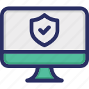 antivirus, computer, error, protection, virus protection icon