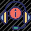 customer, helpline, hotline, service, support icon