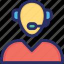 consultant, customer, helpline, hotline, support icon