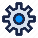 engine, gear, internet, option, security, setting, web icon