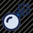alert, bomb, danger, explosive, internet, security, virus icon