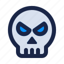 danger, security, head, skull, internet, death, virus