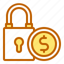 bank, business, finance, money, secure icon
