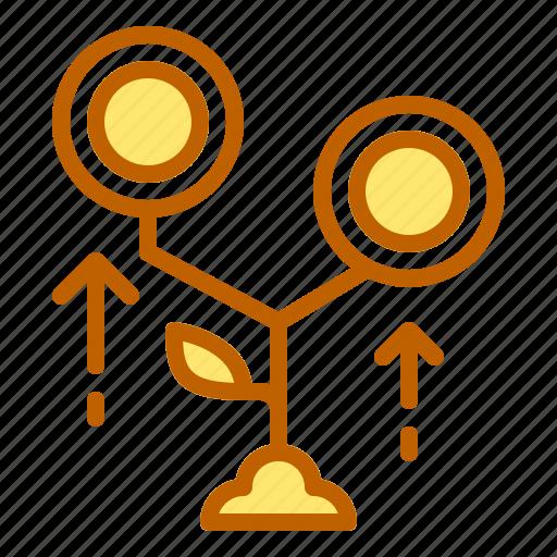 bank, business, finance, money, profit icon