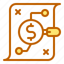 bank, business, finance, goal, strategy icon