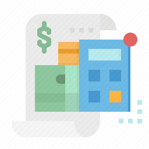 bank, contract, debt, loan, money icon