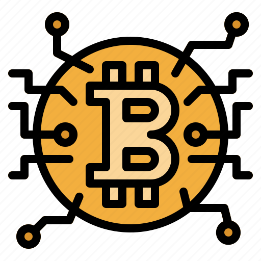 Bitcoin, blockchain, coin, cryptocurrency, money icon - Download on Iconfinder