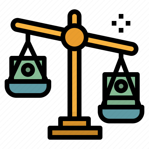 balance, dollar, investment, money, profits icon