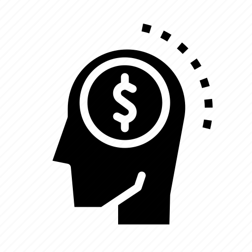 analysis, brain, bussiness, dollar, think icon