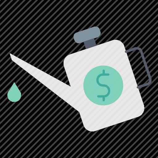 engine, investment, lubrication, money, optimization icon