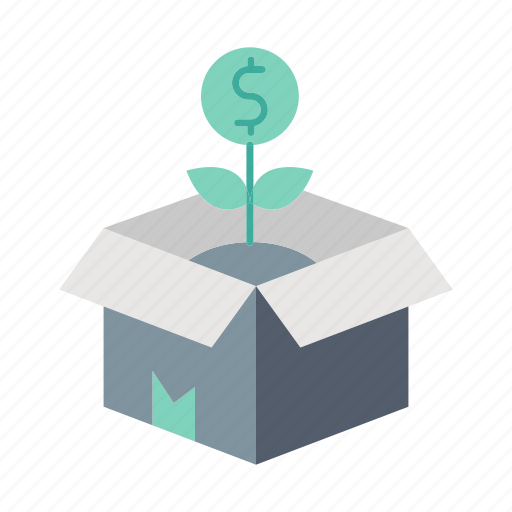 business, delivery, ecommerce, growth, investment, product, release icon