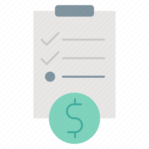 business, checklist, investment, report, survey icon
