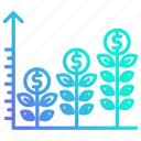 chart, graph, growth, investment, report icon