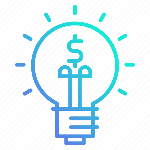 Investing, innovation, investment, business, idea icon