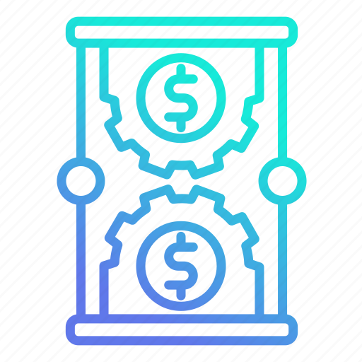 investment, make money, management, money, strategy, time icon