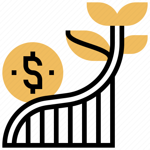 business, growth, profit, progress, success icon