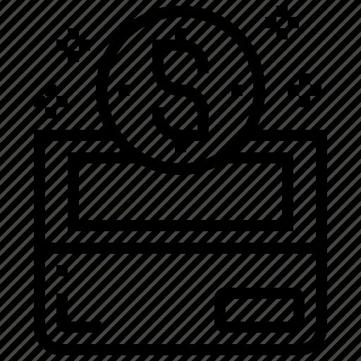 Bank, deposit, financial, fund, saving icon - Download on Iconfinder