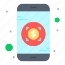 banking, investment, mobile icon