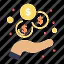 income, investment, revenue