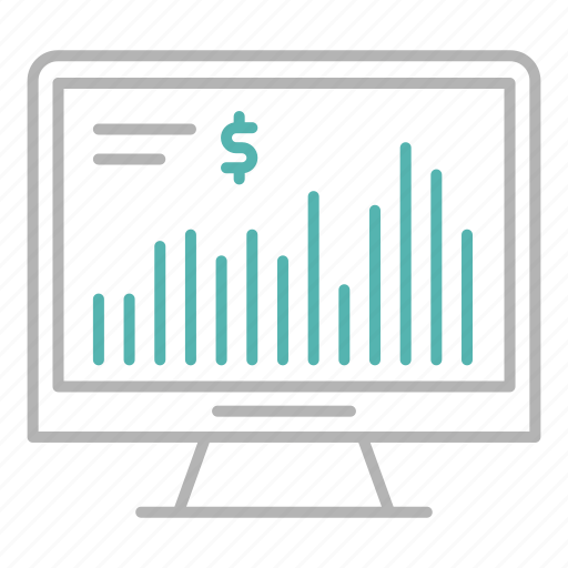 business, chart, finance, investment, market, online, stock icon