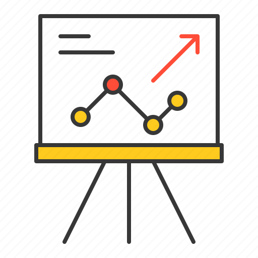 business, finance, fund, graph, investment icon