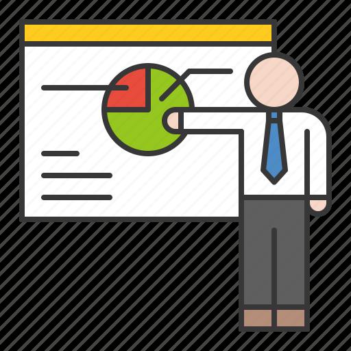 business, finance, fund, investment, presentation icon