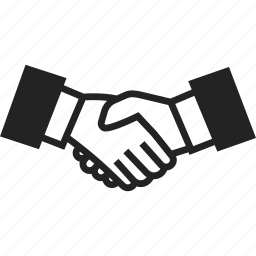 agreement, business, hand, handshake icon