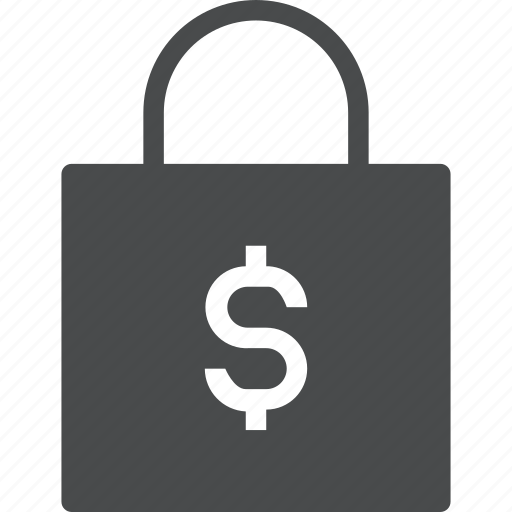 bag, buy, cart, purchase, shop, shopping, store icon