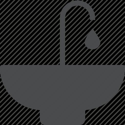 bathroom, faucet, plumbing, sink, vanity, wash, water icon