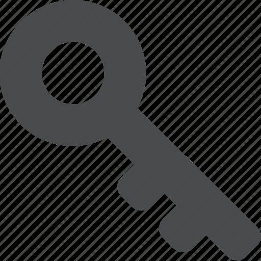 access, key, skeleton, unlock icon