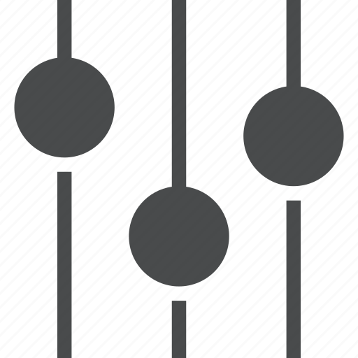 audio, configuration, control, preferences, settings, slider, sliders icon